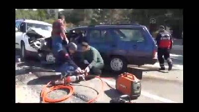 Trafik kazası: 1 ölü 2 yaralı - YOZGAT