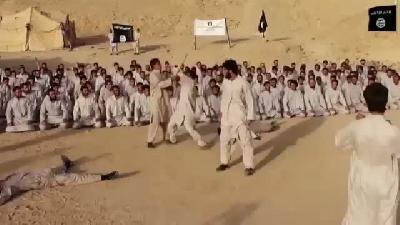 İşte IŞİD'in eğitim kampı
