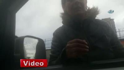 Mecidiyeköy'de sürücüleri şaşırtan olay