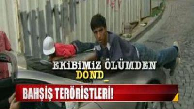 İstanbul'daki bahşiş terörü kamerada